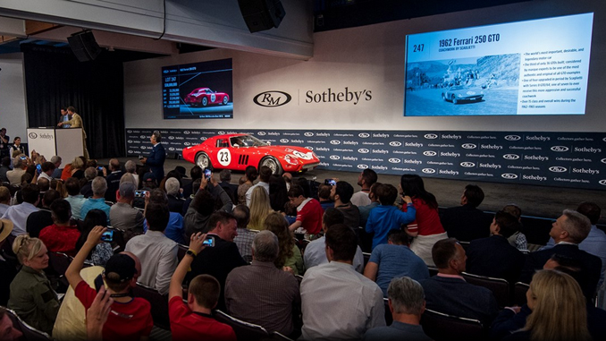 RM Sotheby's Sells Ferrari 250 GTO