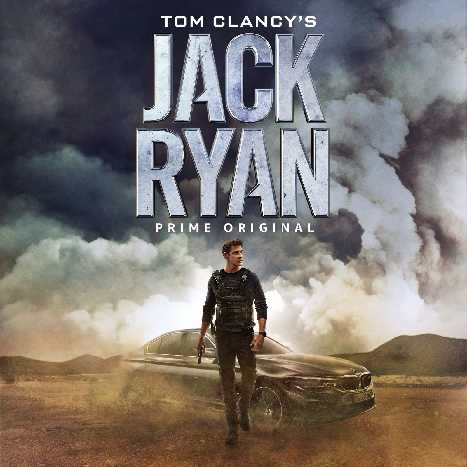 "The BMW 5 Series Sedan in ""Tom Clancy's Jack Ryan"" on Prime Video (Amazon). (08/2018)"