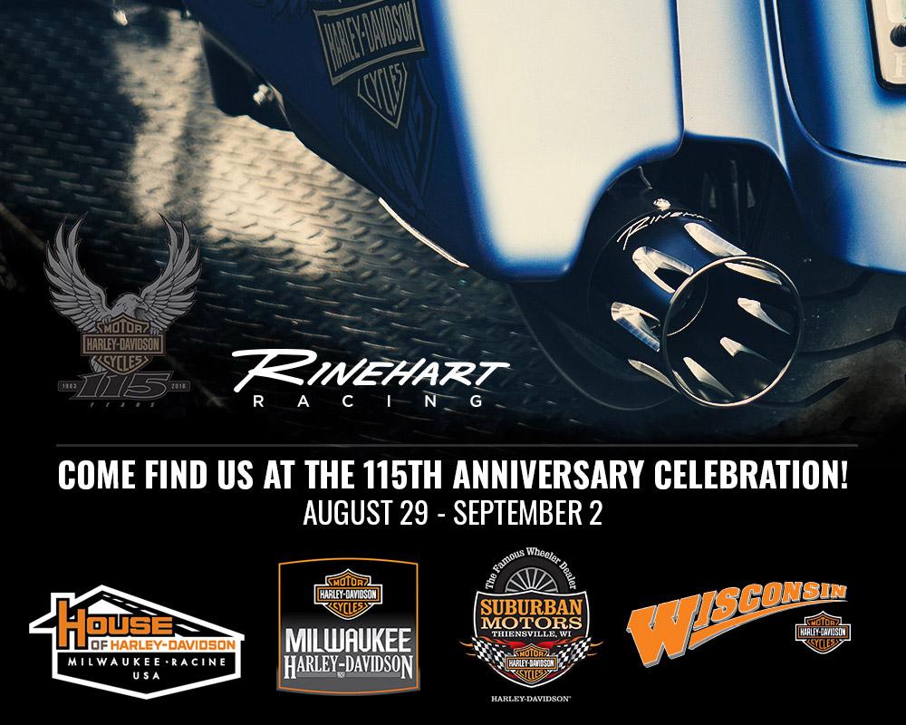 Rinehart Racing - Harley-Davidson® 115th Anniversary Celebration
