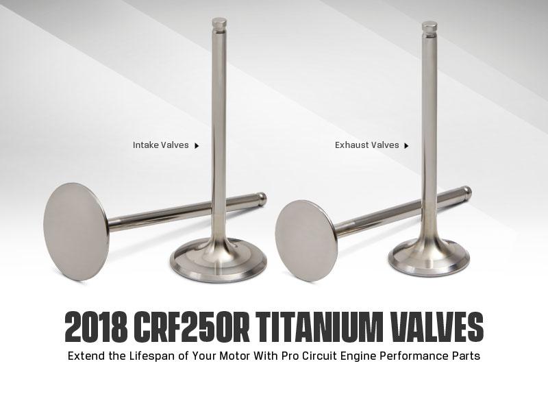 Pro Circuit 2018-CRF250R-Valves