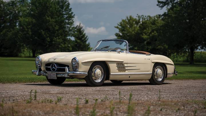 Rm auctions adds 1957 mercedes benz 300 sl roadster to for Mercedes benz 300s