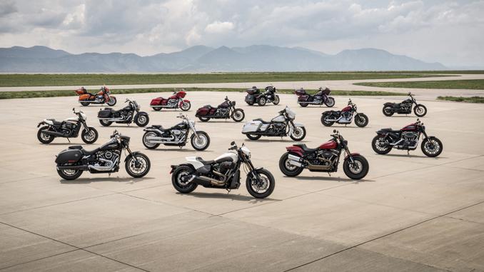 2019 Harley Davidsons