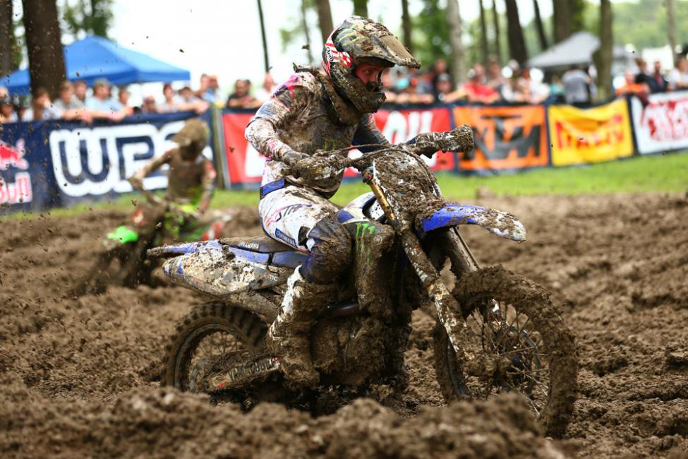 Barcia's goggle-less first moto win vaulted him to his first overall victory since 2015. - Ironman National