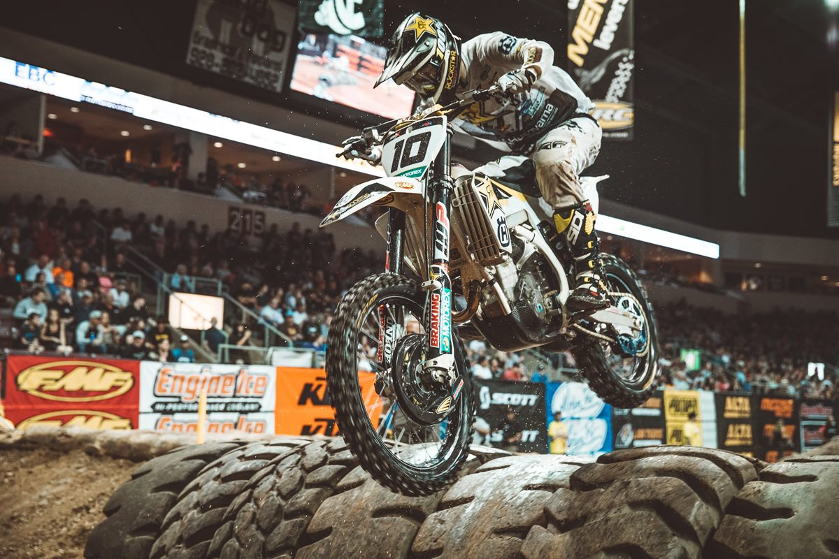 Prescott EnduroCross - Rockstar Energy Husqvarna Factory Racing Off Road's Colton Haaker (Photo- Tanner Yeager)