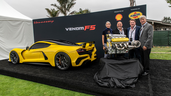 Hennessey Unveils Venom F5 Engine Details At The Quail