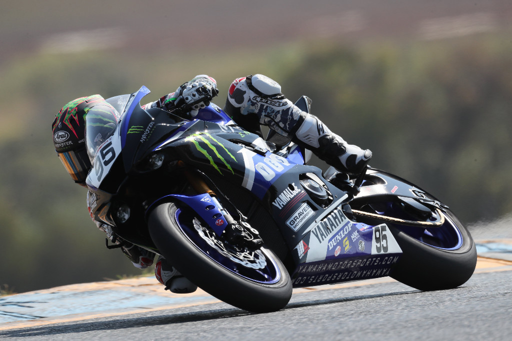 JD Beach could wrap up the 2018 MotoAmerica Supersport Championship this weekend