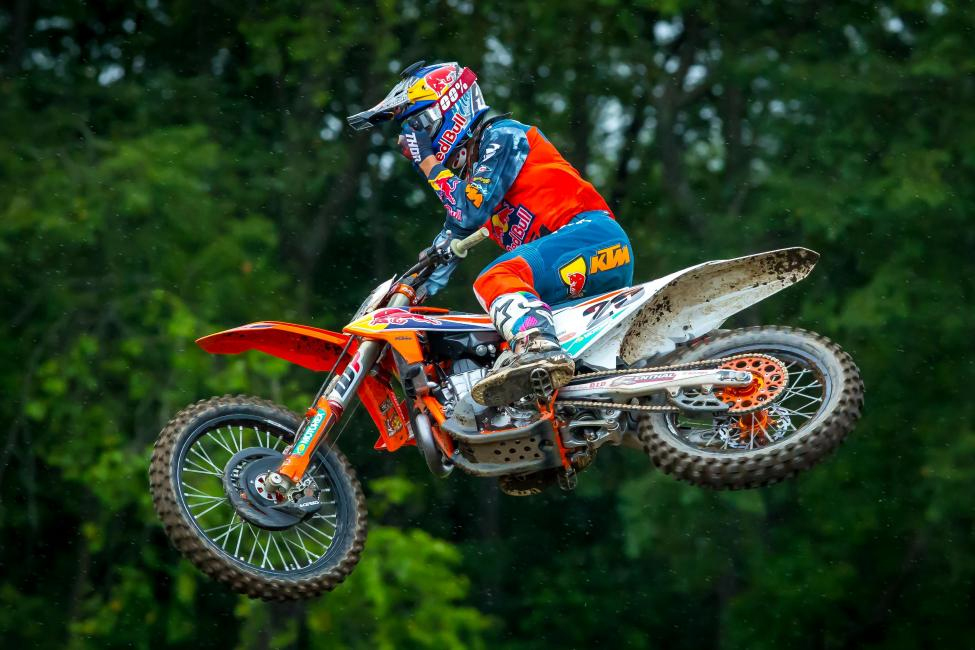 Marvin Musquin claimed his third overall victory