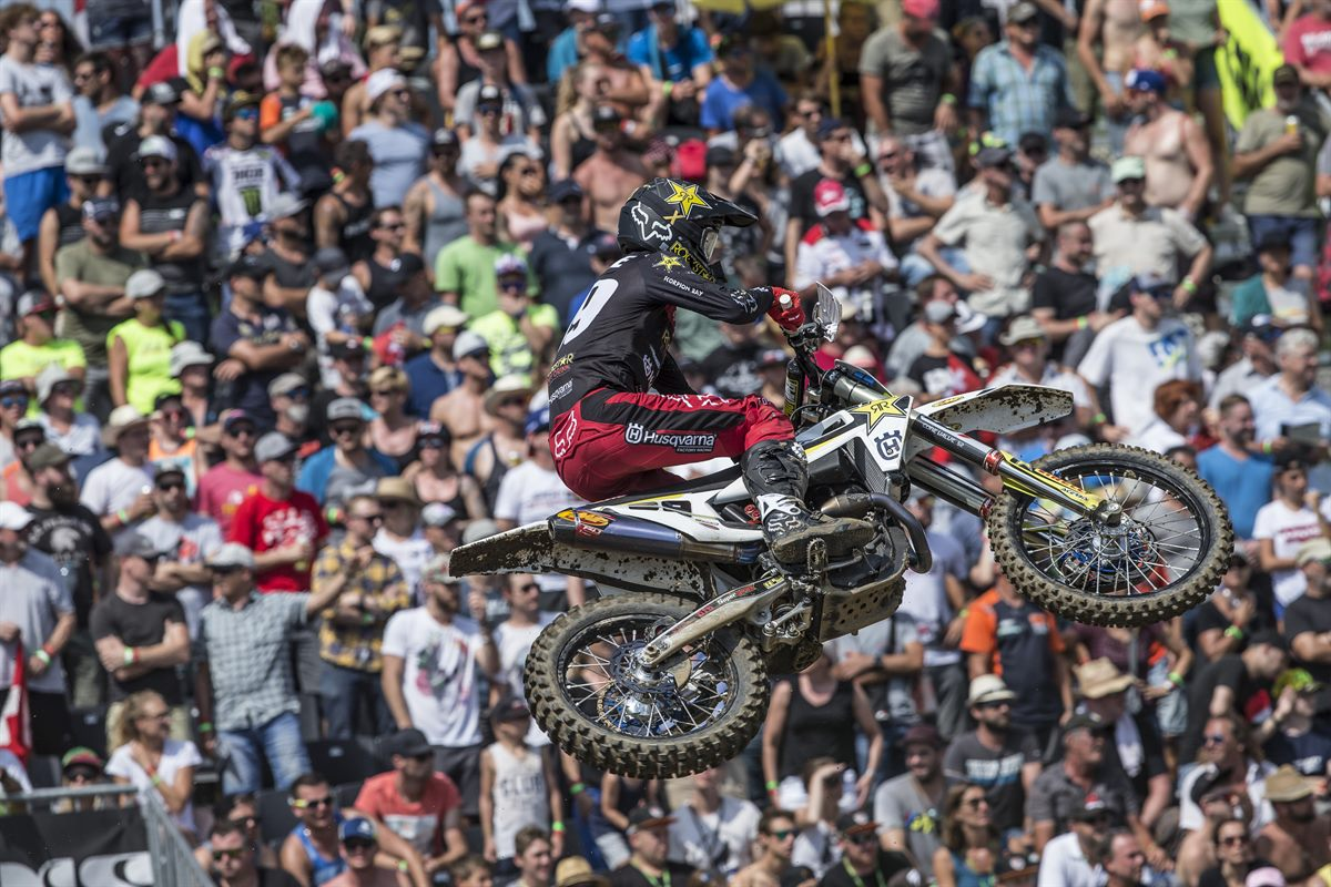 Max Anstie – Rockstar Energy Husqvarna Factory Racing - GP of Switzerland