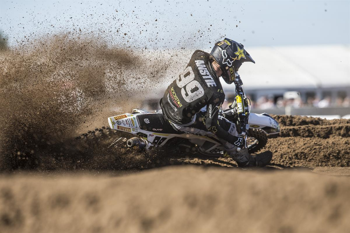Max Anstie - Rockstar Energy Husqvarna Factory Racing - GP of Belgium