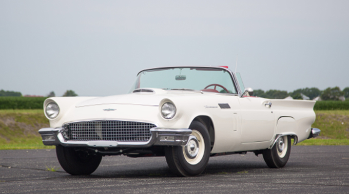 1957 Ford Thunderbird E-Code 312/270 HP, 3-Speed (Lot S118)