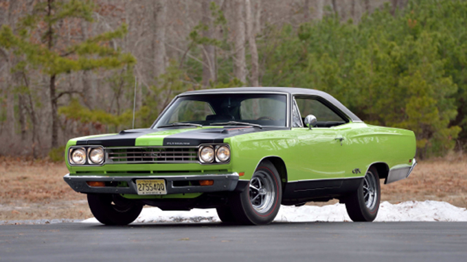 1969 Plymouth Hemi GTX 426 CI, Broadcast Sheet (Lot S116)