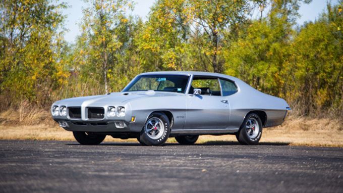 1970 Pontiac GTO Ram Air IV 400/370 HP, 4-Speed (Lot S88)