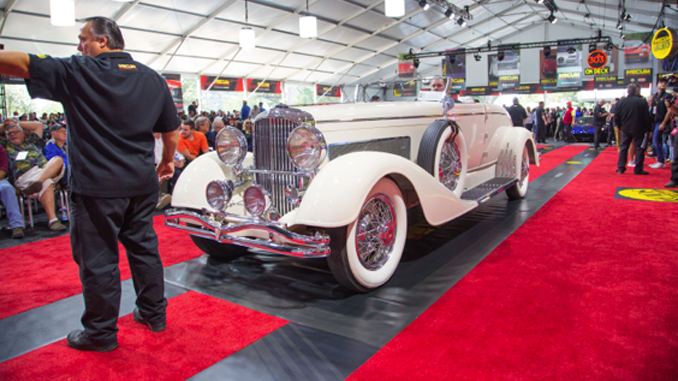 1933 Duesenberg Model J Convertible Coupe (Lot S93) at $3,850,000