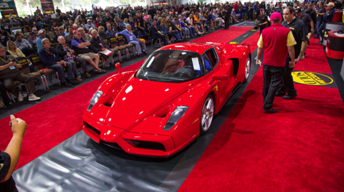 2003 Ferrari Enzo (Lot S48.1) at $2,860,000