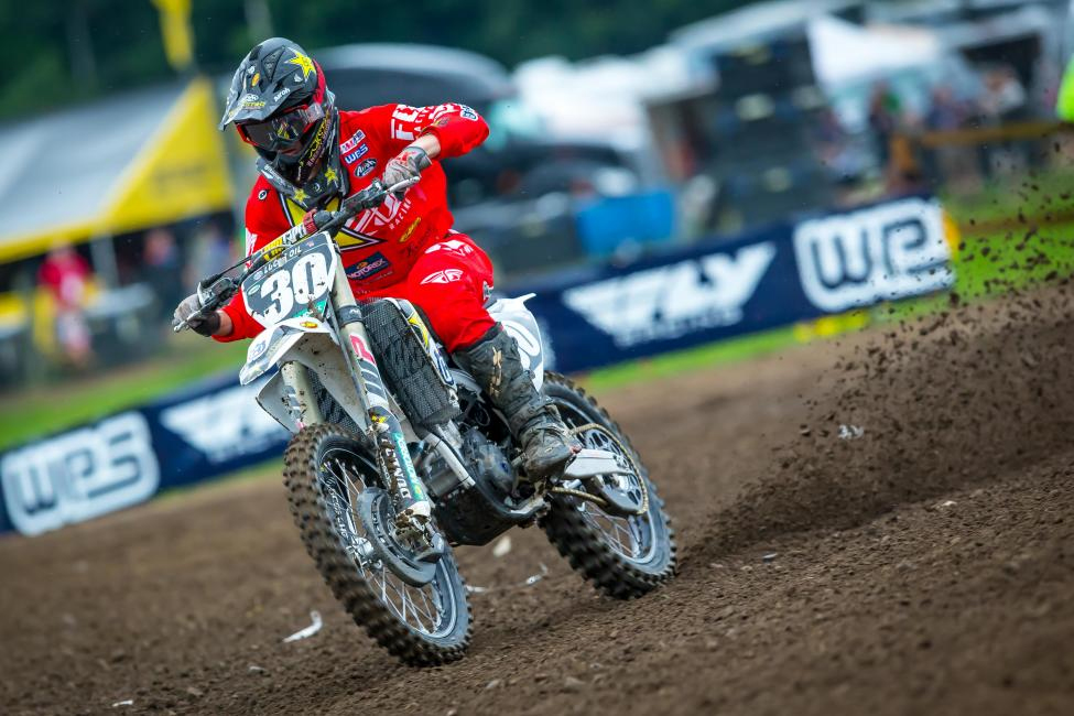 Mitchell Harrison was strong all day and used consistency to finish third overall - Unadilla