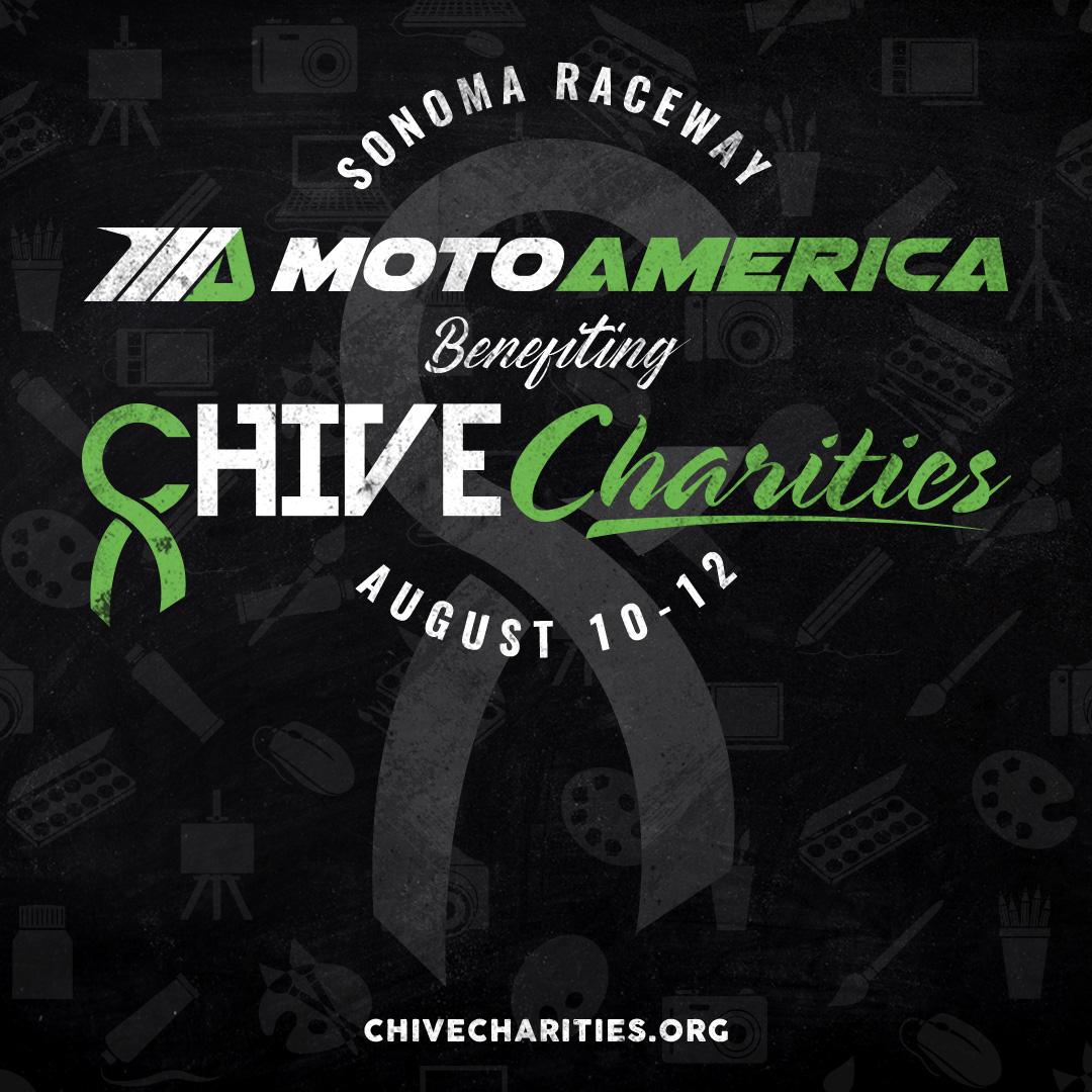 MotoAmerica And Chive Charities