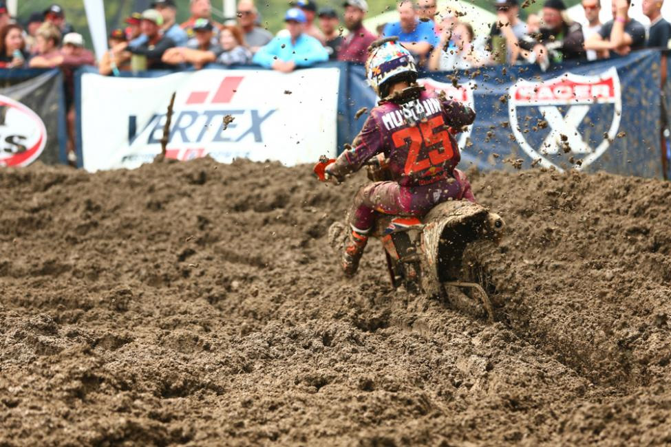 Musquin battled to a hard-fought third-place finish. - Ironman National