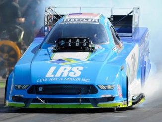 NHRA Funny Car Tim Wilkerson - action