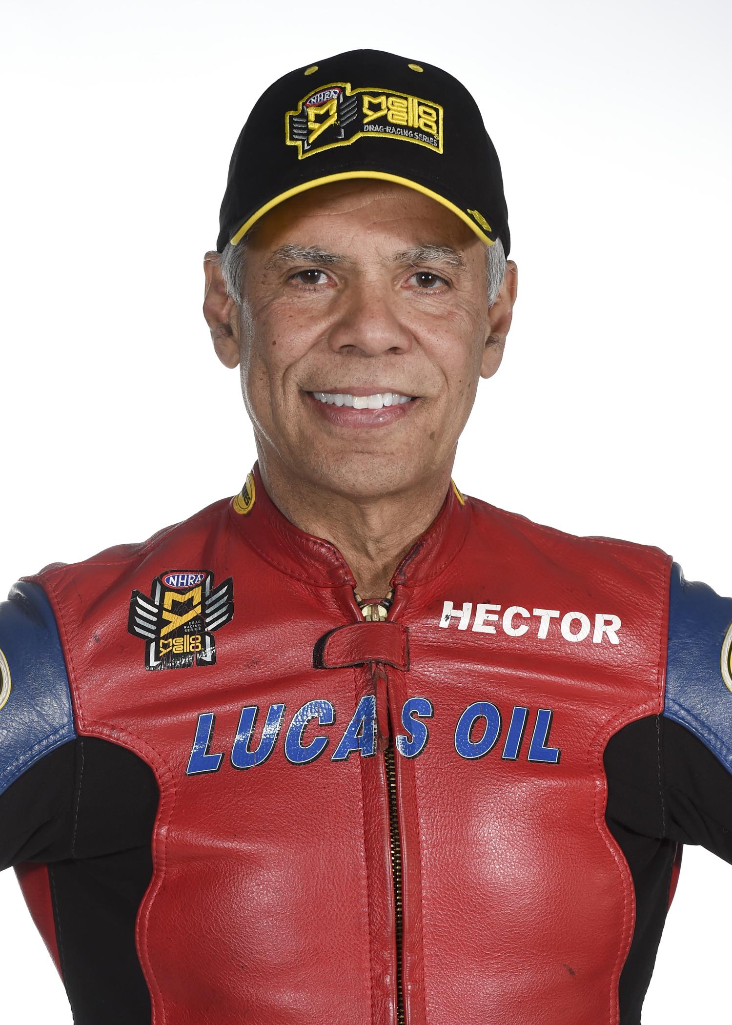NHRA Pro Stock Motorcycle Hector Arana Sr.
