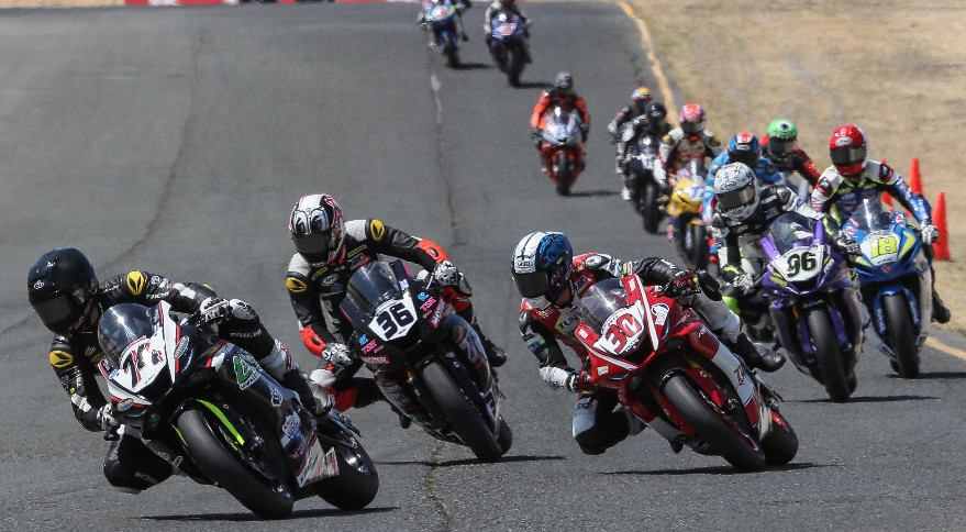 Over 100 racers will take to MotoAmerica's starting grids in this weekend's Championship of Pittsburgh