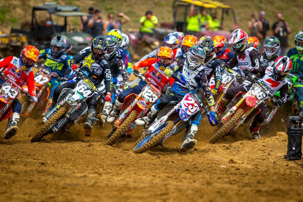 Plessinger's first moto win and third overall (1-11) clinched the 250 Class title - Budds Creek National