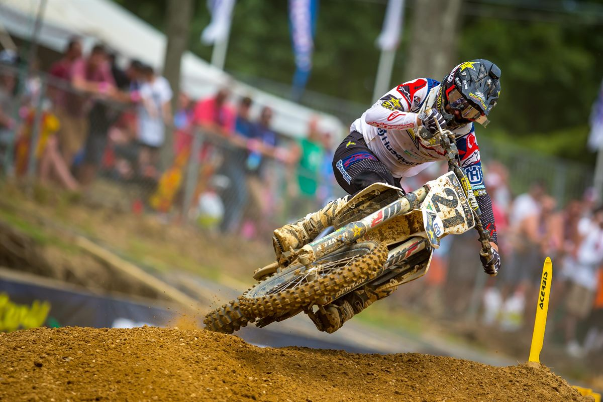 Rockstar Energy Husqvarna Factory Racing's Jason Anderson (Photo: Simon Cudby)