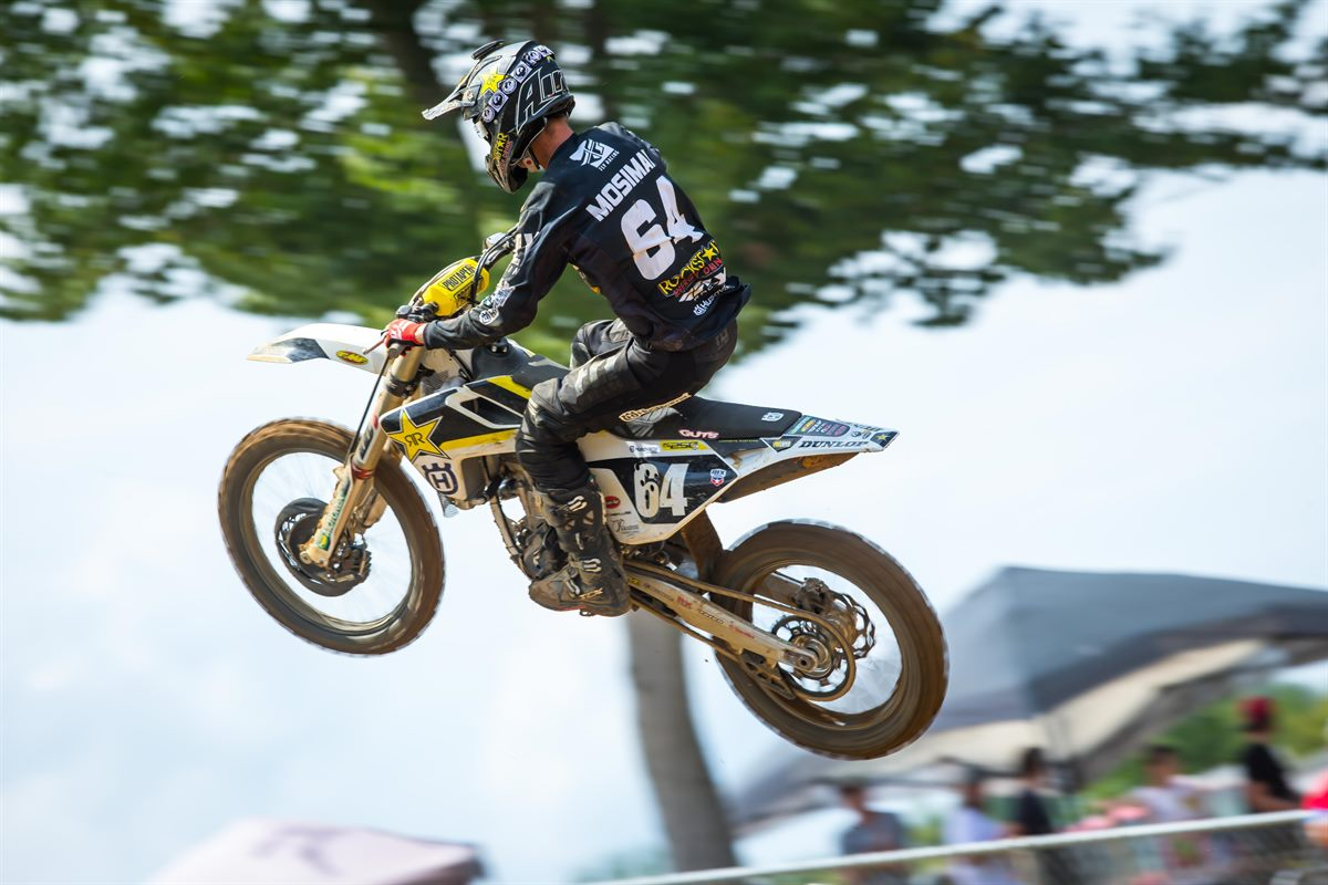 Rockstar Energy Husqvarna Factory Racing's Michael Mosiman (Photo- Simon Cudby)