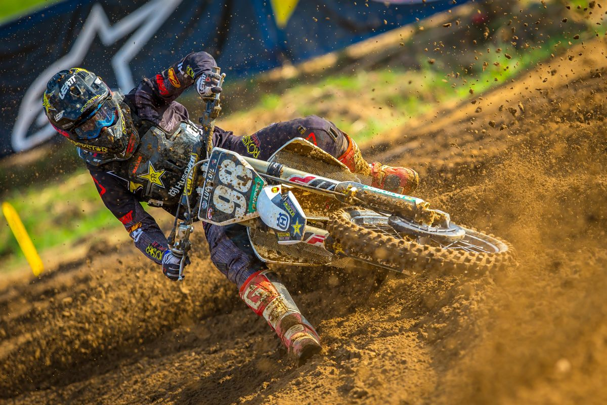 Rockstar Energy Husqvarna Factory Racing's Ryan Sipes (Photo: Simon Cudby)