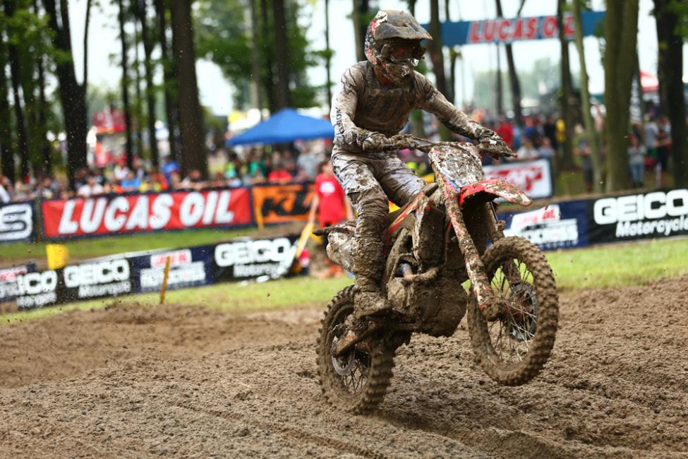 Roczen earned his fifth runner-up finish in the past six races. - Jeff Kardas - Ironman National