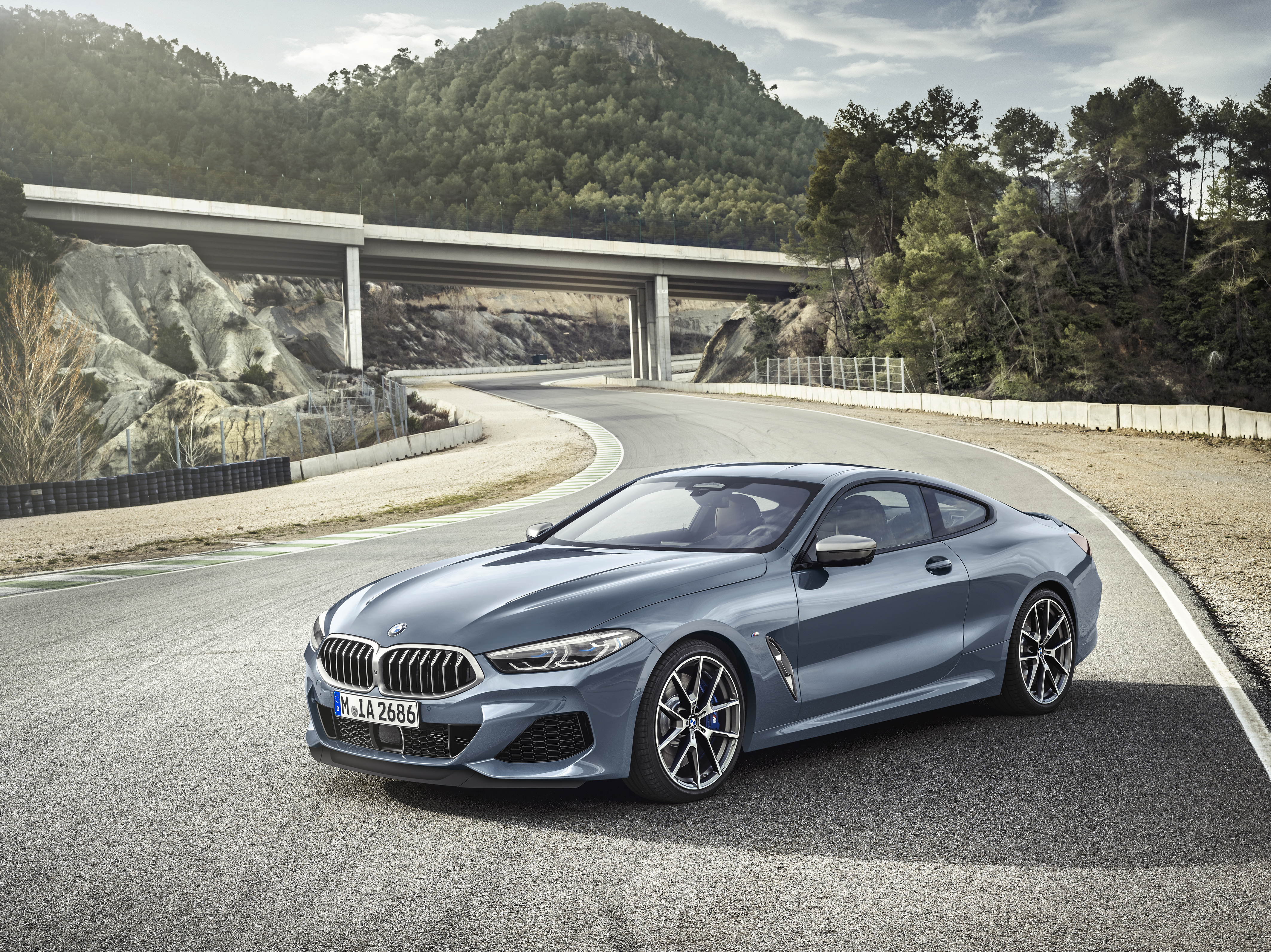 The all-new BMW 8 Series Coupe - Monterey Car Week