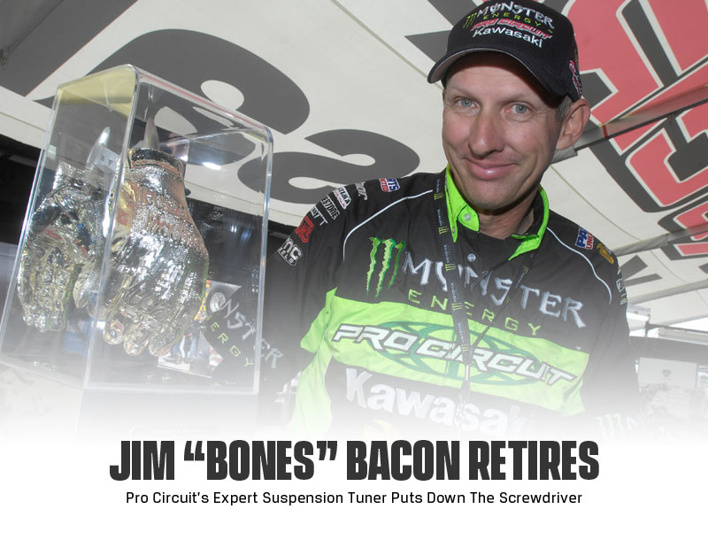 "Jim ""Bones"" Bacon Retires as Head Suspension Tech"
