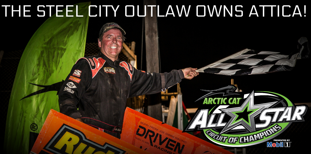 Tim Shaffer wins Dirt Classic Ohio opener at Attica Raceway Park
