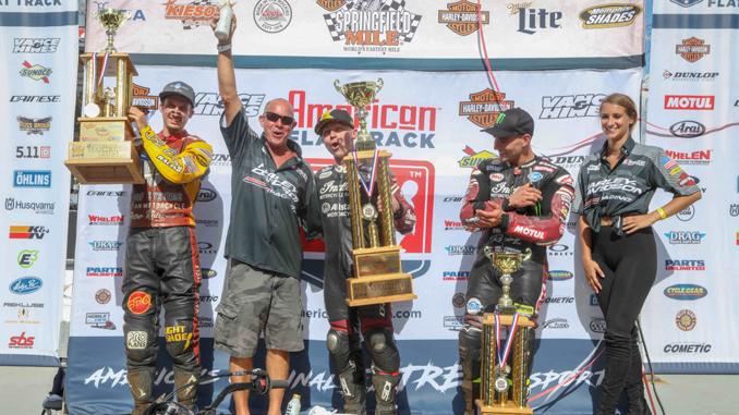 Bryan Smith Wins Epic Harley-Davidson Springfield Mile II