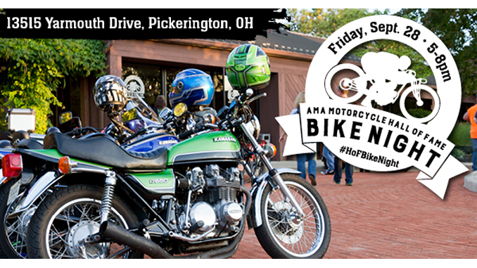 2018 AMA Motorcycle Hall of Fame Fall Bike Night
