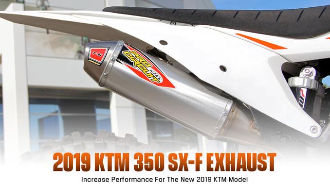 Pro Circuit 2019 KTM 350 SX-F Exhaust
