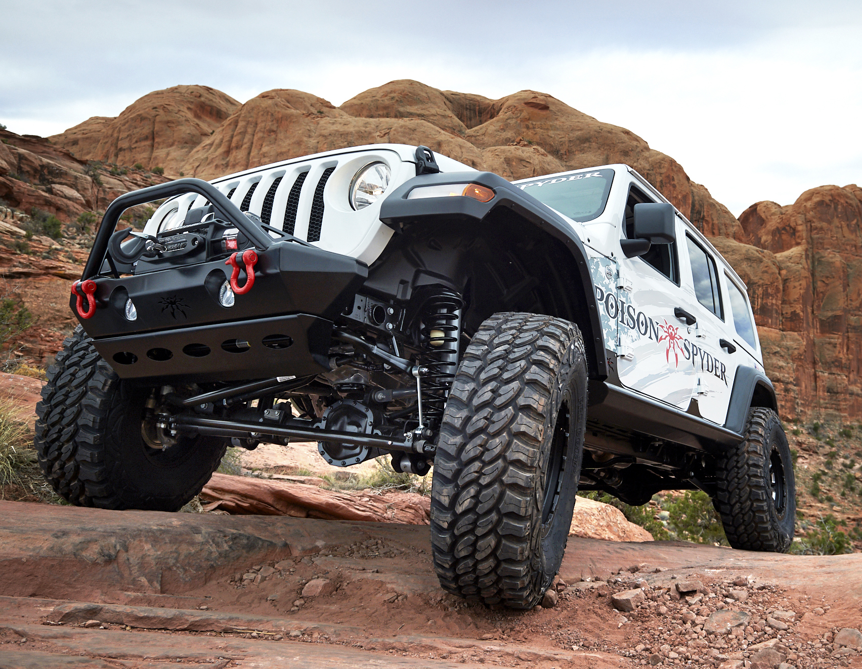 Poison Spyder Newest Products For The Jeep Wrangler Jl And Jk Parts Frame Both Bruiser Crawler Bumpers Offer Matching Rear That Are Compatible With Spyders Mounted Tire Carrier Ultimate