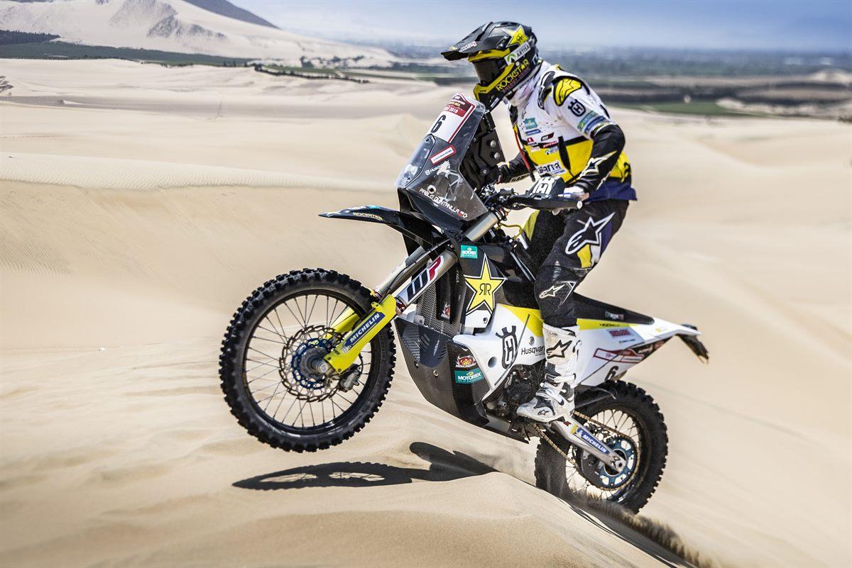 Pablo Quintanilla – Rockstar Energy Husqvarna Factory Racing - Desafio Inca