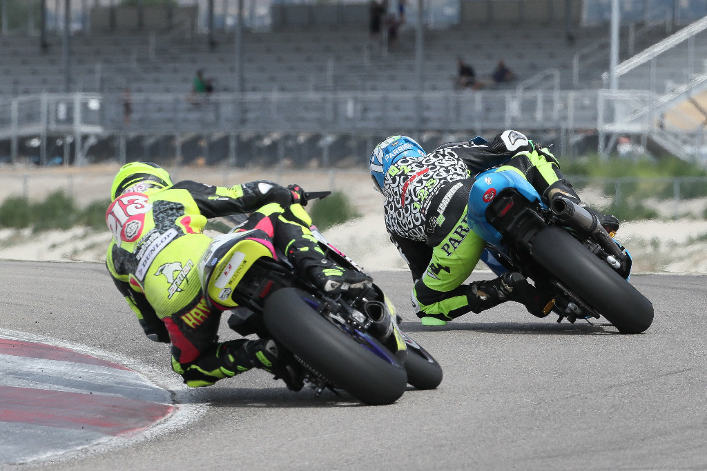 Chris Parrish leads Jason Madama by just two points - Twins Cup