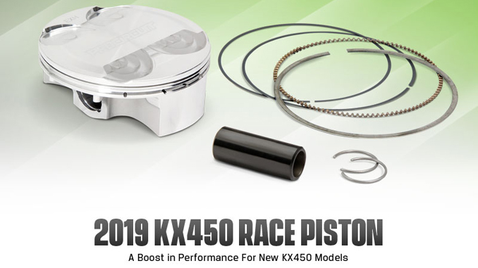 Pro Circuit 2019 KX450 High-Compression Piston Kit