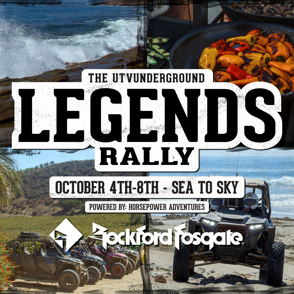 Rockford Fosgate 2018 Legends Rally Sea to Sky HR