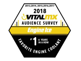 VitalMX Readers Name Engine Ice #1 Choice for Hi-Performance Coolant