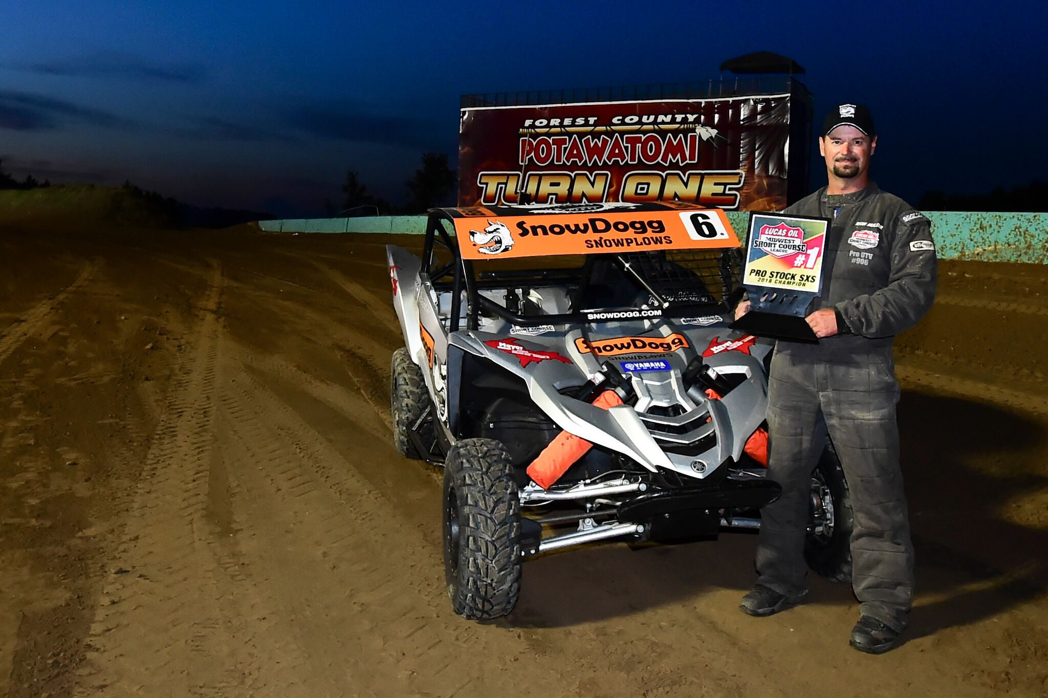 Yamaha - Lucas Oil Midwest Short Course League Pro Stock SxS Champion - Ryan Mulder