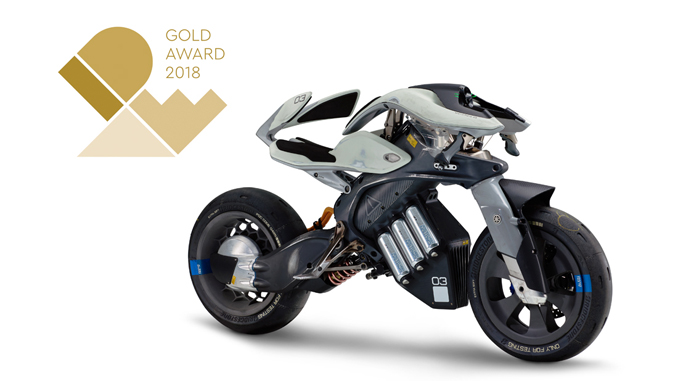 Yamaha Motor's First Grand Gold Prize at IDEA