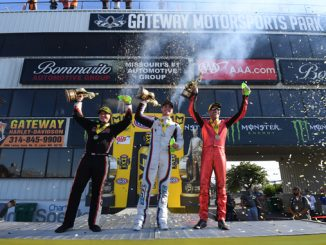AAA Insurance NHRA Midwest Nationals Winners Circle-StLouis