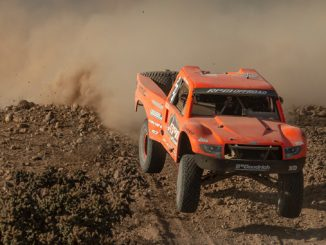 Podium Finish - Sara Price In Trophy Truck Spec. Class - SCORE International Tijuana Desert Challenge