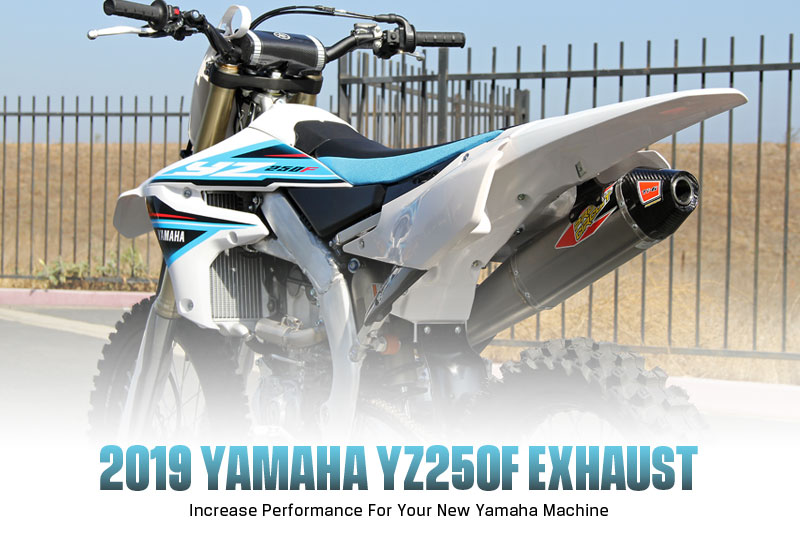 Pro Circuit 2019 YZ250F Exhaust