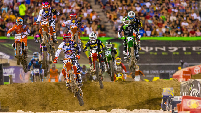 2018 Monster Energy AMA Supercross - an FIM World Championship - season finale (credit- Jeff Kardas)