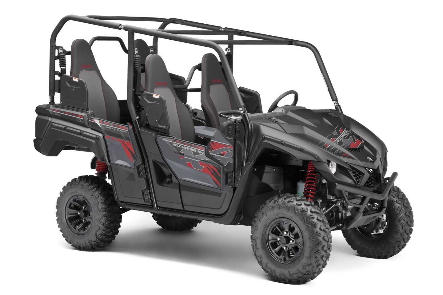 2019 Yamaha Wolverine X4 SE in Tactical Black