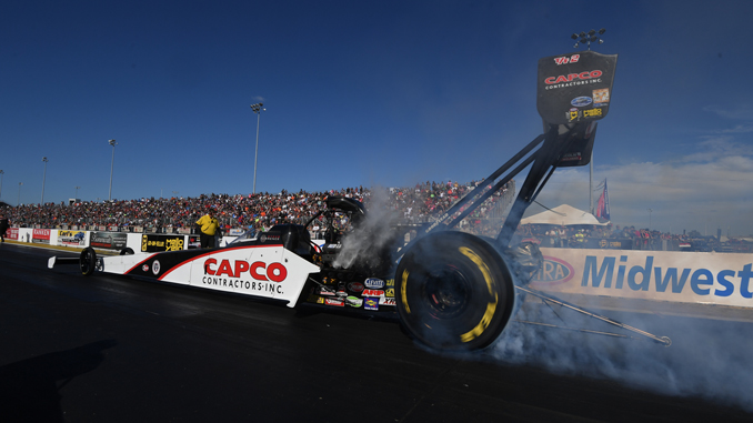 AAA Insurance NHRA Midwest Nationals - SteveTorrence-Saturday-St Louis