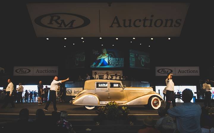 Auburn Fall Sale - images by Darin Schnabel © 2018 Courtesy of RM Auctions